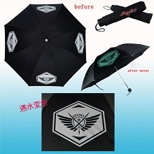China glory change color umbrella