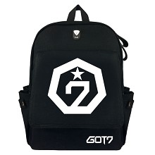 BTS GOT7 canvas backpack bag