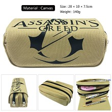 Assassin's Creed canvas pen bag pencil bag