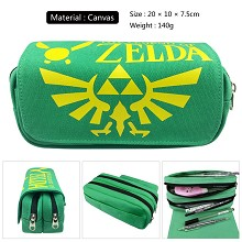 The Legend of Zelda canvas pen bag pencil bag