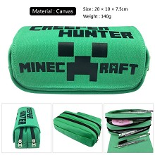 Minecraft canvas pen bag pencil bag