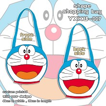 Doraemon shape shopping bag shoulder bag