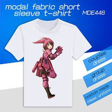 Gun Gale Online model short sleeve t-shirt