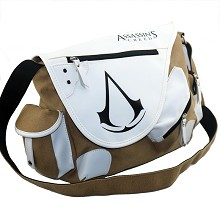 Assassin's Creed canvas satchel shoulder bag