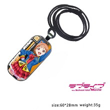 Lovelive Takami Chika anime necklace