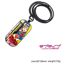 Lovelive Kunikida Hanamaru anime necklace