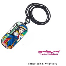 Lovelive Kanan Matsuura anime necklace