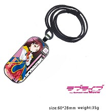 Lovelive Sakurauchi Riko anime necklace