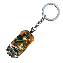 Attack on Titan Eren anime key chain
