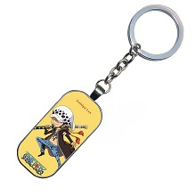 One Piece LAW anime key chain