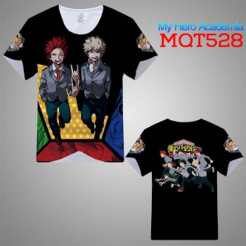 My Hero Academia anime modal t-shirt