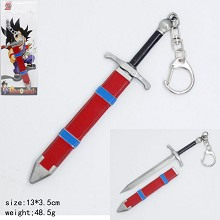 Dragon Ball Trunks knife key chain