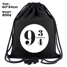 Harry Potter drawstring backpack bag