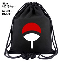 Naruto anime drawstring backpack bag
