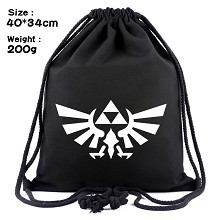 The Legend of Zelda drawstring backpack bag