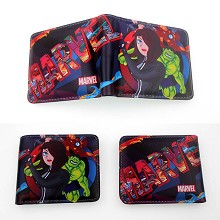 Cartoon Hero wallet