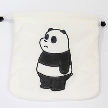 We Bare Bears plush drawing bags set(10pcs a set)