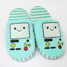 Adventure Time plush shoes slippers a pair