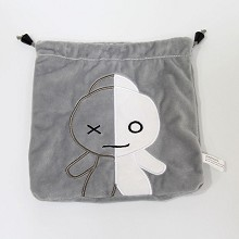 BTS plush drawing bag