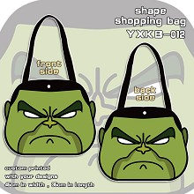 Hulk shape shopping bag shoulder bag