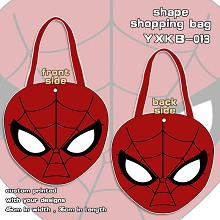 Spider Man shape shopping bag shoulder bag