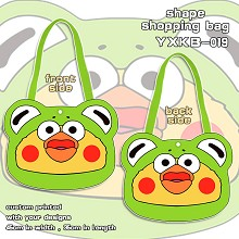 Docomo shape shopping bag shoulder bag