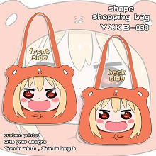 Himouto Umaru-chan anime shape shopping bag shoulder bag