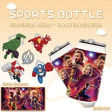 The Avengers Sports bottle kettle