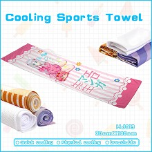 Eromanga-sensei anime cooling sports towel
