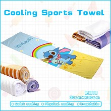 Stitch anime cooling sports towel