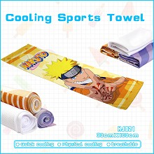 Naruto anime cooling sports towel