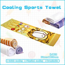 Garfield anime cooling sports towel