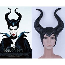 Maleficent cosplay mask