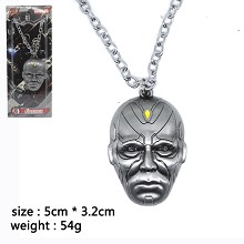 Avengers Vision necklace