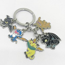 How to Train Your Dragon key chain