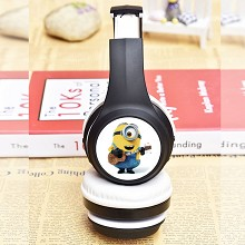 Despicable Me anime Wireless Bluetooth headset hea...