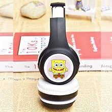 Spongebob anime wireless bluetooth headset headpho...