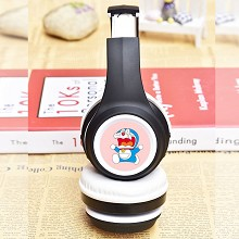 Doraemon anime wireless bluetooth headset headphon...