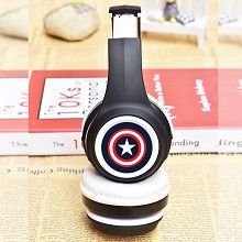 Captain America wireless bluetooth headset headpho...