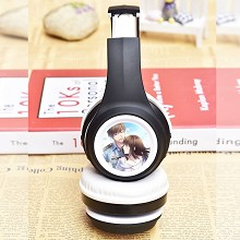 The other anime wireless bluetooth headset headpho...