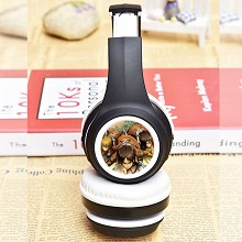 Attack on Titan anime wireless bluetooth headset h...