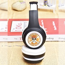 One Piece anime wireless bluetooth headset headphone