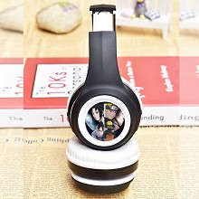 Naruto anime wireless bluetooth headset headphone