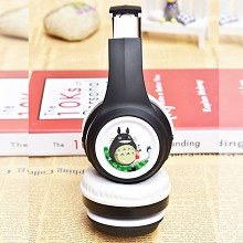 Totoro anime wireless bluetooth headset headphone