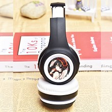 Date A Live anime wireless bluetooth headset headp...