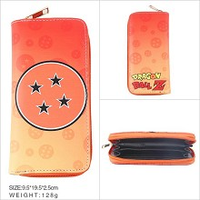 Dragon Ball anime long wallet