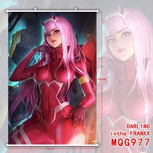 DARLING in the FRANXX anime wall scroll