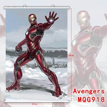 The Avengers Iron Man wall scroll