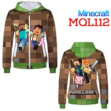 Minecraft thick hoodie cloth dress sweater