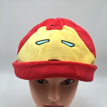 12inches Iron Man plush hat